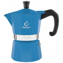 FOREVER Macchina del caffè caffettiera Prestige La Azzurra 1 tazza