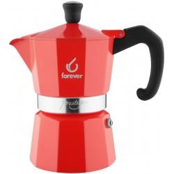 FOREVER Macchina del caffè caffettiera Prestige La Rossa 3 tazze