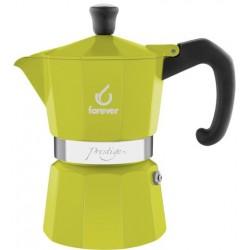 FOREVER Macchina del caffè caffettiera Prestige La Verde 3 tazza
