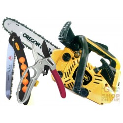 ALPINA CHAINSAW TO PRUNE A305sc KIT SHEAR SCISSOR SHIPPING TRIBUTE