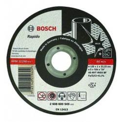 BOSCH MOLE MOLE ABRASIVE ACCIAIO-INOX 115X1X22
