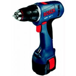 BOSCH TRAPANO BATTERIA 12V-2 BASIC 3 BAT.