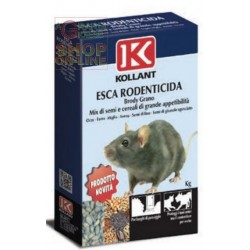 KOLLANT BRODY MIX ESCA TOPICIDA GRANULARE Mix di semi e cereali GR. 500