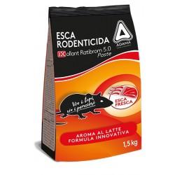 KOLLANT Ratibrom 5.0 Esca Topicida in Pasta kg. 1,5