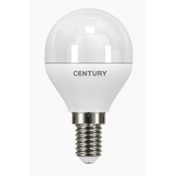 LAMPADA CLASSICA A LED LUCE FREDDA E14 ECOLIGHT A SFERA WATT. 6 PZ. 3