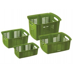MAZZEI Hobby Basket 1 Cestino Sovrapponibile cm. 31x19x11h. 4,2 litri