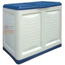 Mettitutto Bama contenitore in plastica clore blu cm. 78x45x64h. lt. 200