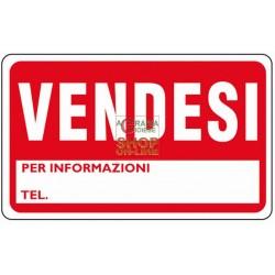 CARTELLO SEGNALE VENDESI MM. 300X200