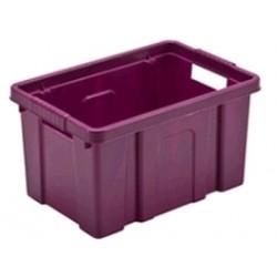 CASSETTA CONTENITORE IN PLASTICA BOXI CM.56X43,5X30 LT. 55