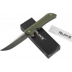 RUIKE RKE HUSSAR P121-B  COLTELLO CHIUDIBILE CON MANICO VERDE CM. 21,5
