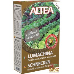 ALTEA LUMACHINA BARRIERA ANTI-LUMACA NATURALE 2,5 Kg