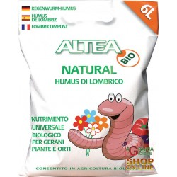 ALTEA NATURAL HUMUS DI LOMBRICO KG. 3