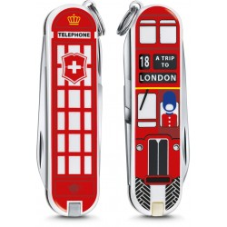 VICTORINOX CLASSIC LIMITED EDITION A TRIP TO LONDON ART. 0.6223.L1808 MM. 58