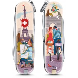 VICTORINOX CLASSIC LIMITED EDITION THE CITY OF LOVE ART. 0.6223.L1810 MM. 58
