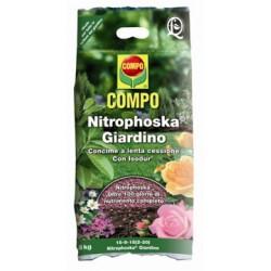 COMPO CONCIME NITROPHOSKA GIARDINO KG. 8