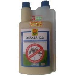COMPO DRAKER 10.2 INSETTICIDA CONCENTRATO ANTIZANZARE ML. 300