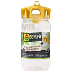 COMPO Flybuster Dust TRAPPOLA CATTURA MOSCHE PER ESTERNO CON