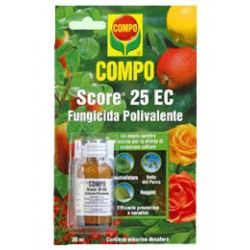 COMPO FUNGICIDE, SCORE 25 EC MULTI-PURPOSE ML. 20