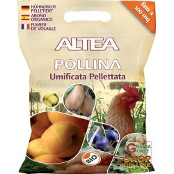 ALTEA POLLINA UMIFICATA PELLETTATA CONCIME ORGANICO KG. 5