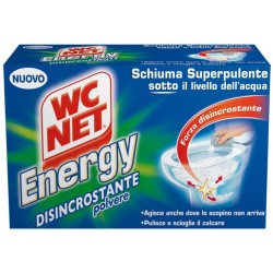 WC NET ENERGY POLVERE ATTIVA DISINCROSTANTE 4 BUSTE