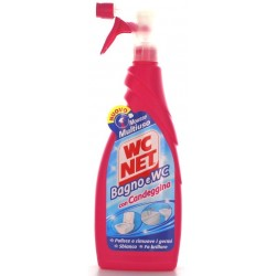WC NET MOUSSE CON CANDEGGINA TRIGGER ML. 600
