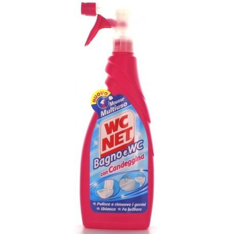 WC NET MOUSSE CON CANDEGGINA TRIGGER ML. 600