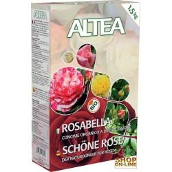 ALTEA ROSABELLA CONCIME ORGANICO GRANULARE PER ROSE, SIEPI E ARBUSTI kg. 1,5