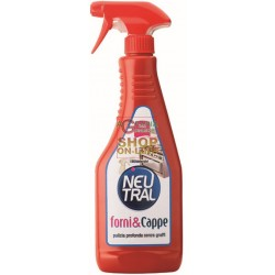 DETERGENTE NEUTRAL SPRAY FORNI E CAPPE ML. 500