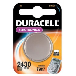 DURACELL BATTERIA A BOTTONE CR2430 BL. 1