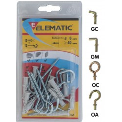 ELEMATIC BLISTER TASSELLI EB/GM 6