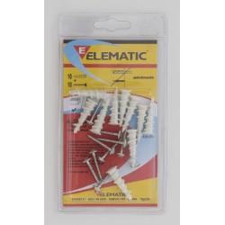 ELEMATIC TASSELLI DRIVA 3,0X25 PZ. 10