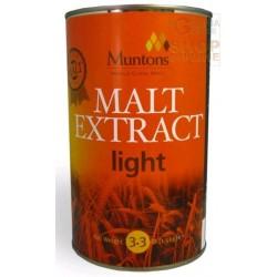 ESTRATTO DI MALTO NON LUPPOLATO EXTRA LIGHT PER BIRRE CHIARE KG. 1,5