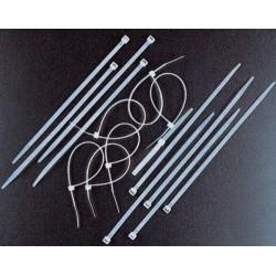 FASCETTE DI CABLAGGIO NYLON NERE MM. 3,5 X 140 PZ. 100