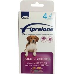 Fipralone antiparassitario pulci e zecche spot-on cane 10 - 20