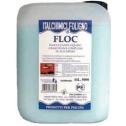 FLOCCULANTE LIQUIDO FLOC PER PISCINE LT.5