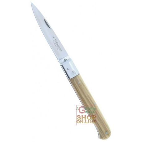 Fraraccio coltello caltagirone manico olivo cm. 20 cod. 0409/20