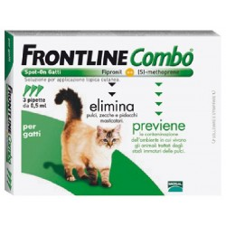 FRONTLINE ANTI-PARASITE, FLEA COMBO SPOT-ON CATS (CF. 3