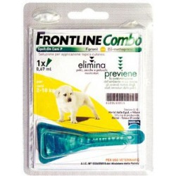 FRONTLINE PESTICIDE FLEAS TICKS COMBO FOR PUPPIES 2 - 10 KG.