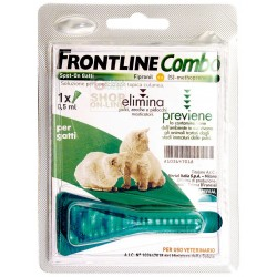 FRONTLINE PESTICIDE FLEAS TICKS COMBO FOR CATS AND FERRETS ML. 0,5