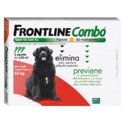 FRONTLINE PESTICIDE FLEAS TICKS COMBO SPOT-ON 40 - 60 KG.
