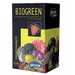 GEREEN BIOGREEN STIMULATING BIOINDUTTORE IN THE VEGETATIVE GROWTH
