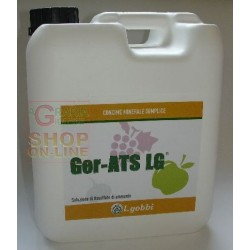 GOBBI GER-ATS MINERAL FERTILIZER NITROGEN HIGH HIGH TITLE IN SULPHUR KG. 6,7