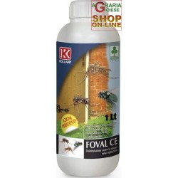 KOLLANT FOVAL EC INSECTICIDE FOR CIVIL USE, FLIES, MOSQUITOES, LT. 1