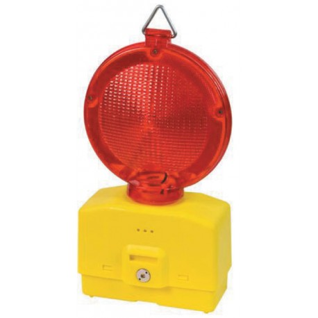 LAMPEGGIATORE A LED PER CANTIERE LUCE ROSSA senza batteria
