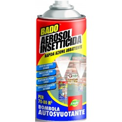 LYMPH AEROSOL INSECTICIDE SPRAY CAN FOR SELF-EMPTYING AND ML. 150