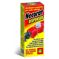 LINFA NECORAT DISPENSER DISTRIBUTORE PER ESCHE TOPICIDE HACCP
