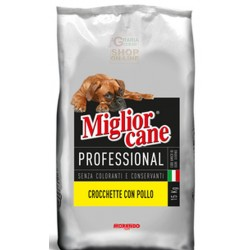 FEED FOR DOGS MIGLIORCANE MORANDO LAMB AND RICE KG. 15