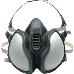 GAS MASK 3M 4251 EC FFA1P2D FULL OF FILTERS